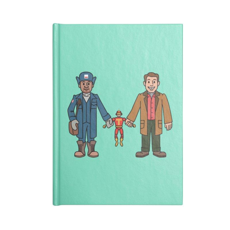 Turbo Friends Accessories Notebook by Ben Douglass