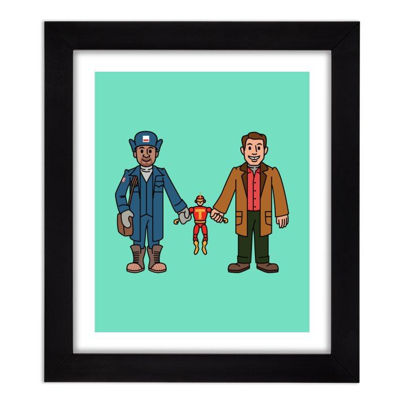 Turbo Friends Home Framed Fine Art Print by Ben Douglass