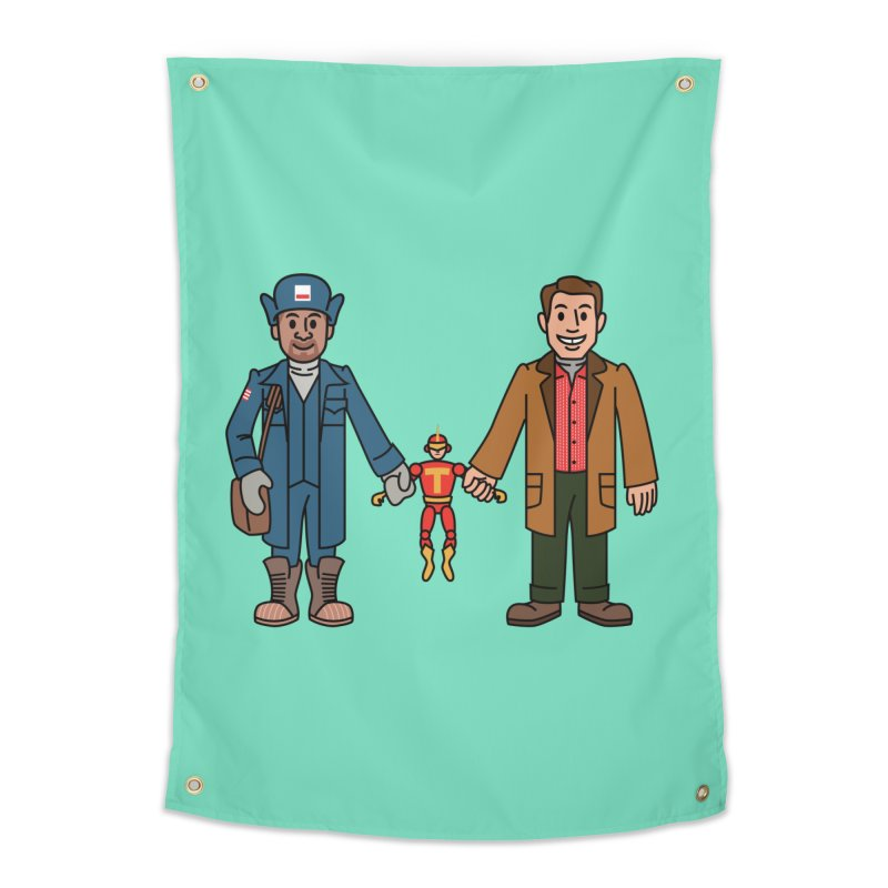 Turbo Friends Home Tapestry by Ben Douglass