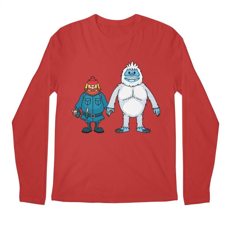 Misfit Friends Men's Longsleeve T-Shirt by Ben Douglass