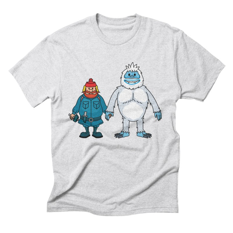 Misfit Friends Men's T-Shirt by Ben Douglass