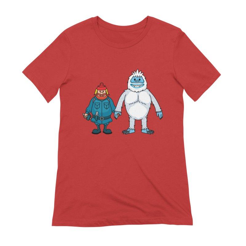 Misfit Friends Women's T-Shirt by Ben Douglass