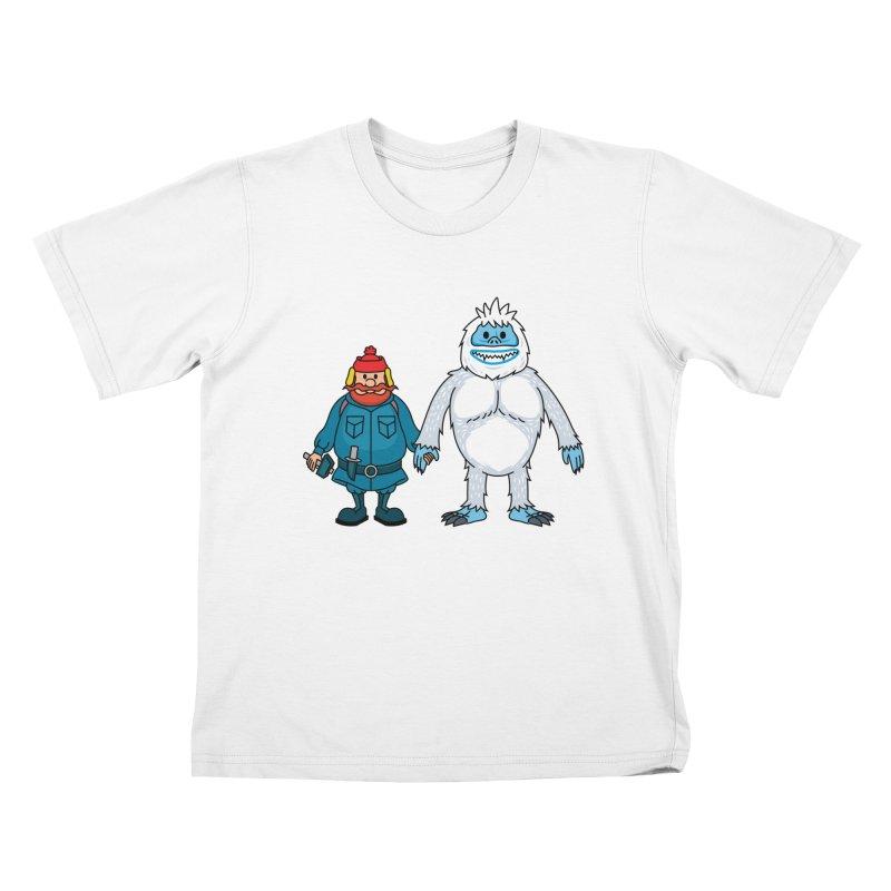Misfit Friends Kids T-Shirt by Ben Douglass