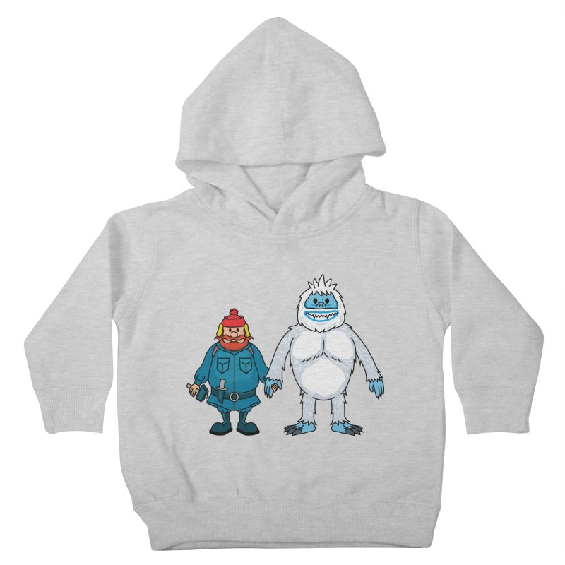 Misfit Friends Kids Toddler Pullover Hoody by Ben Douglass