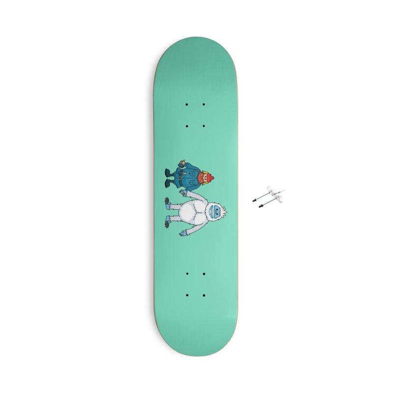 Misfit Friends Accessories Skateboard by Ben Douglass
