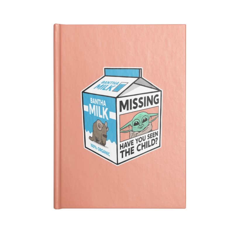 Missing Child Accessories Notebook by Ben Douglass