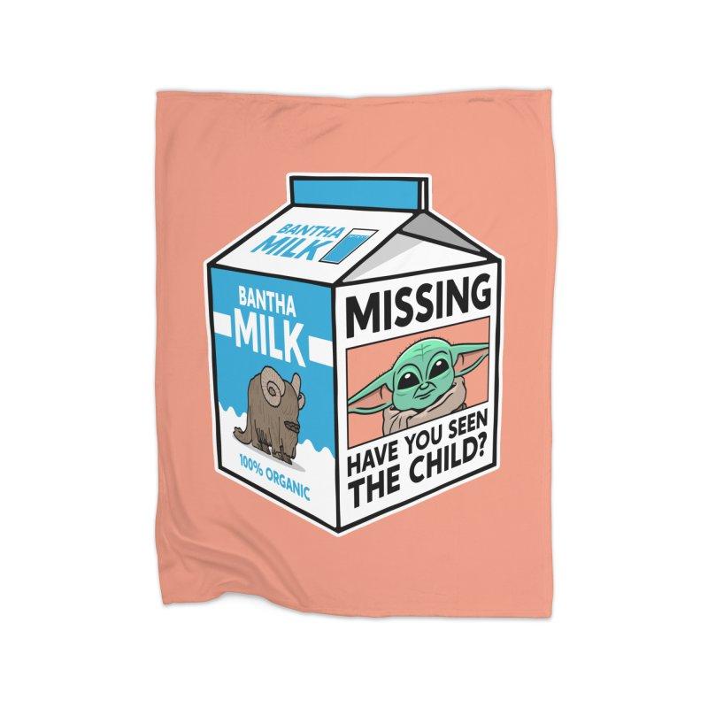 Missing Child Home Blanket by Ben Douglass
