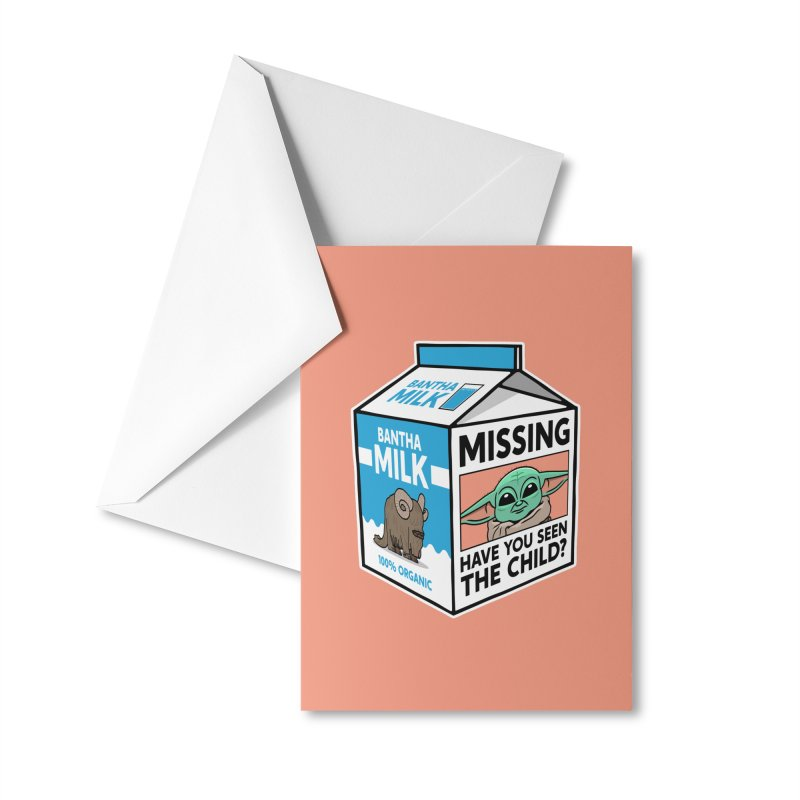 Missing Child Accessories Greeting Card by Ben Douglass