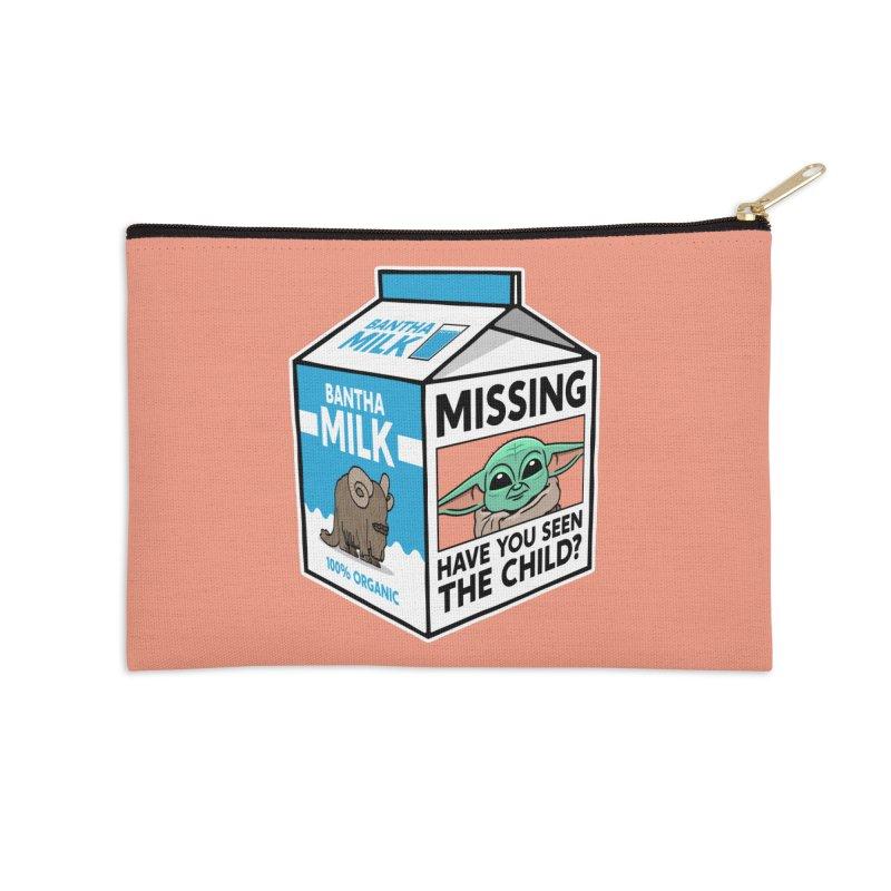 Missing Child Accessories Zip Pouch by Ben Douglass
