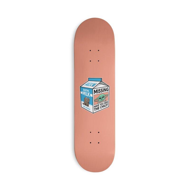 Missing Child Accessories Skateboard by Ben Douglass
