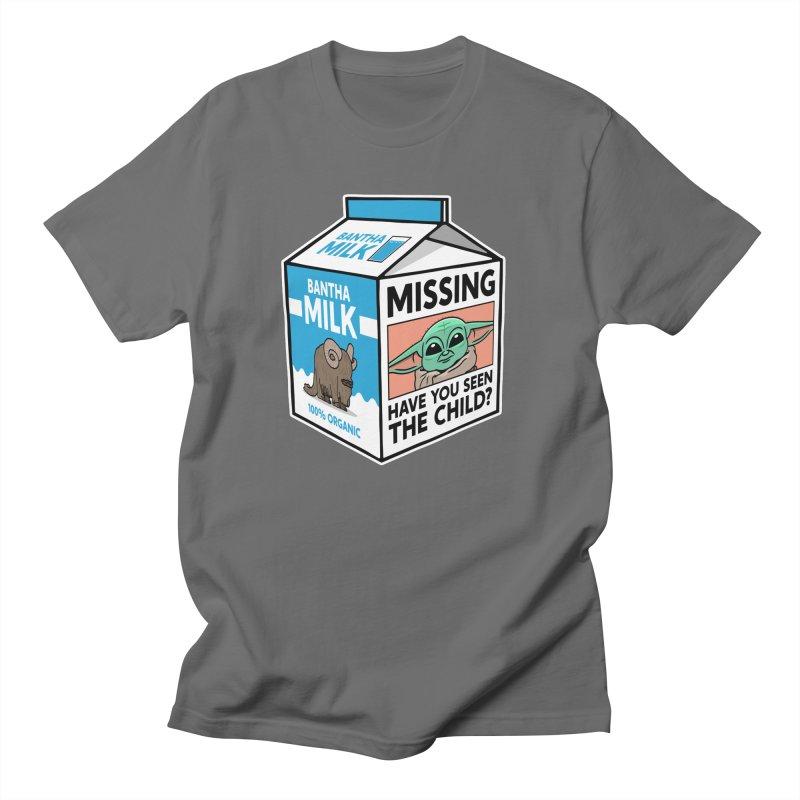 Missing Child Men's T-Shirt by Ben Douglass