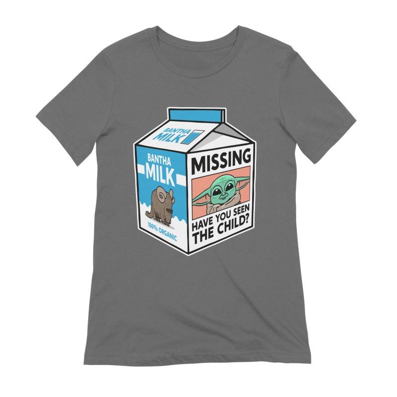 Missing Child Women's T-Shirt by Ben Douglass
