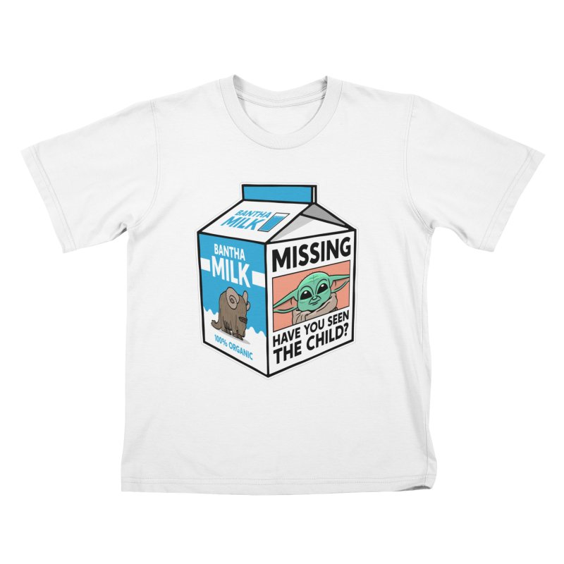 Missing Child Kids T-Shirt by Ben Douglass