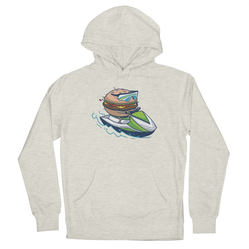 Cheeseburger in Paradise Women's Pullover Hoody by Ben Douglass