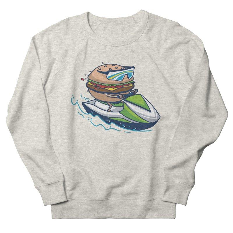 Cheeseburger in Paradise Women's Sweatshirt by Ben Douglass