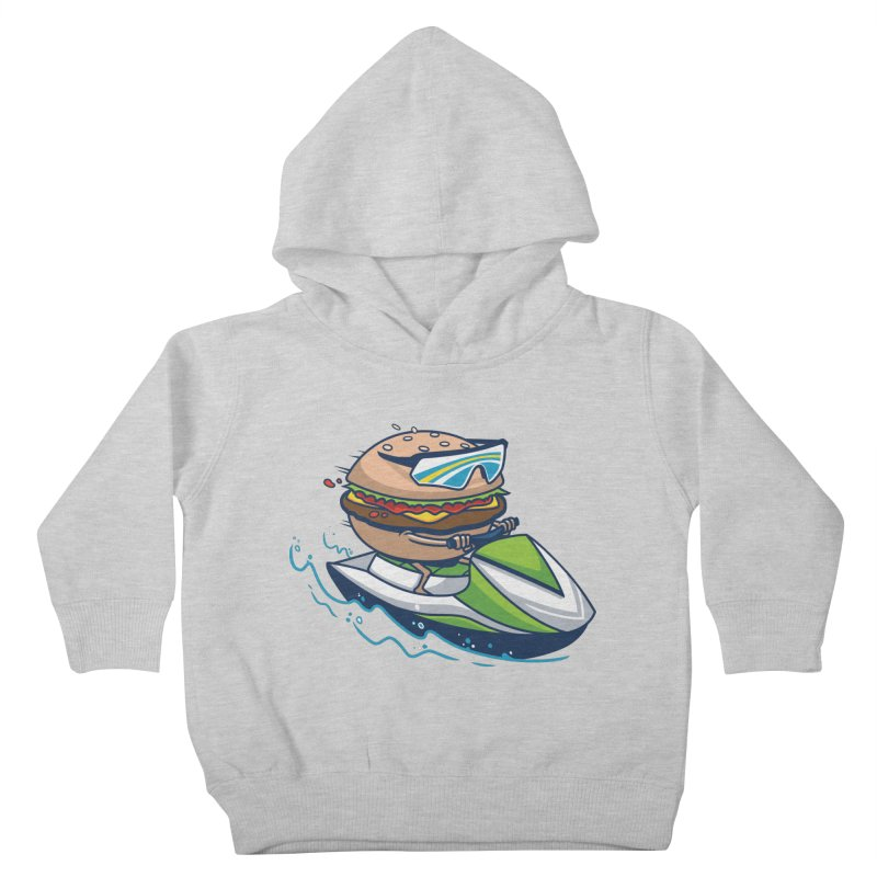 Cheeseburger in Paradise Kids Toddler Pullover Hoody by Ben Douglass