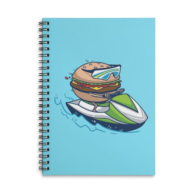 Cheeseburger in Paradise Accessories Notebook by Ben Douglass