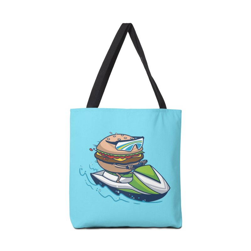 Cheeseburger in Paradise Accessories Bag by Ben Douglass