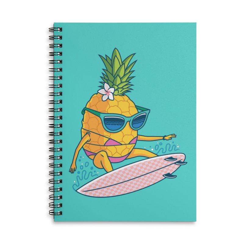 Pointy Break Pineapple Accessories Notebook by Ben Douglass