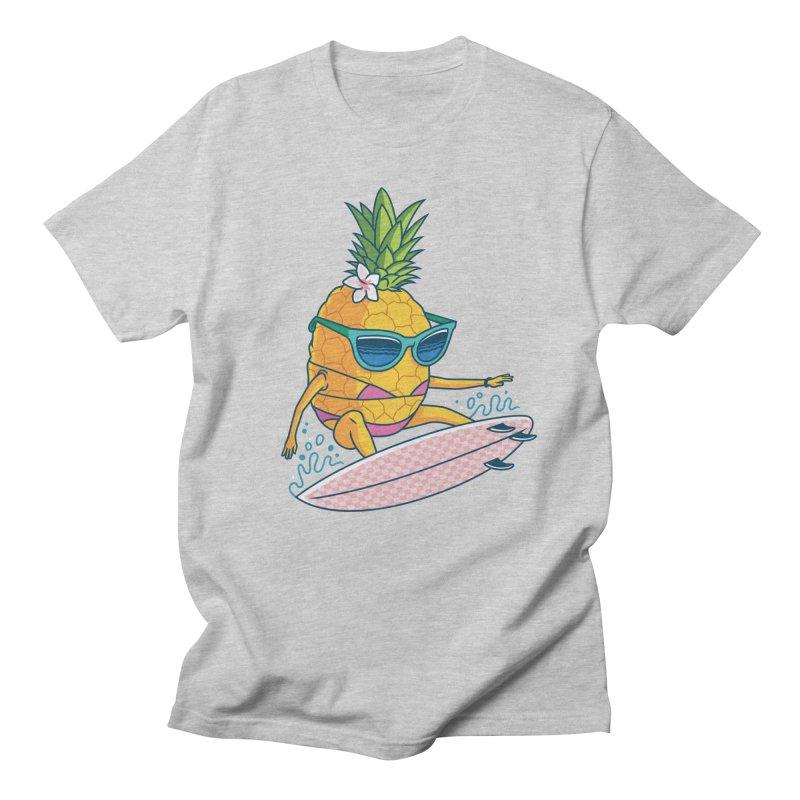 Pointy Break Pineapple Men's T-Shirt by Ben Douglass