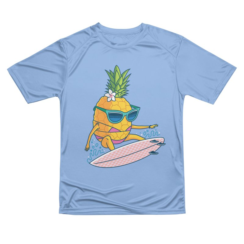 Pointy Break Pineapple Women's T-Shirt by Ben Douglass