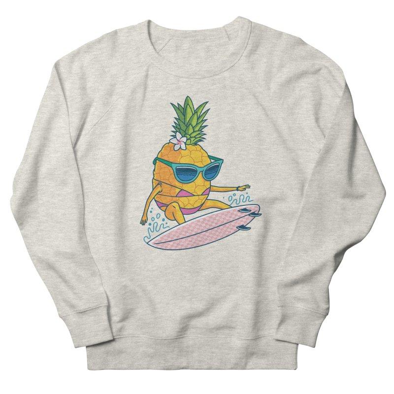 Pointy Break Pineapple Men's Sweatshirt by Ben Douglass