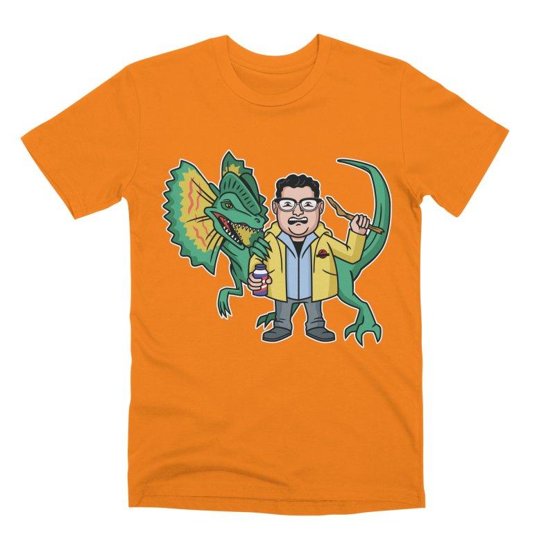 Dinosaur Park Hacker Men's T-Shirt by Ben Douglass