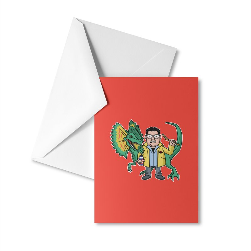 Dinosaur Park Hacker Accessories Greeting Card by Ben Douglass