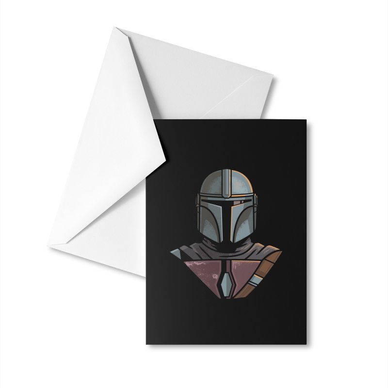 Mando Accessories Greeting Card by Ben Douglass