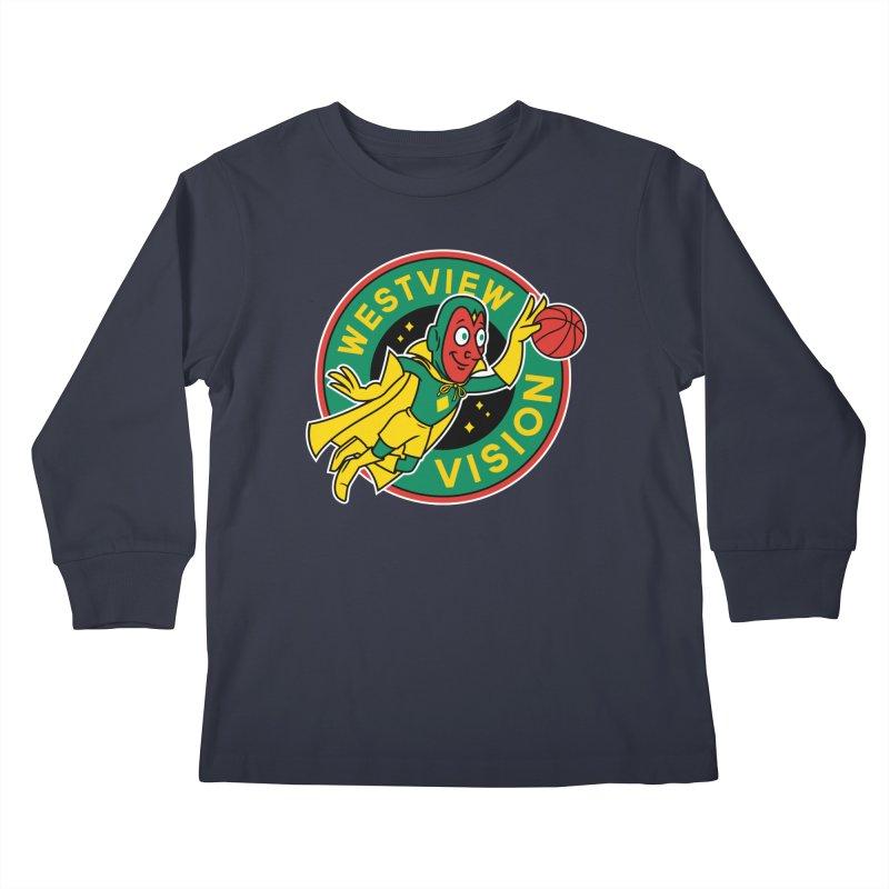 Westview Vision Kids Longsleeve T-Shirt by Ben Douglass