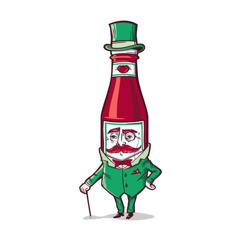 Sir Fancy Ketchup   by Ben Douglass
