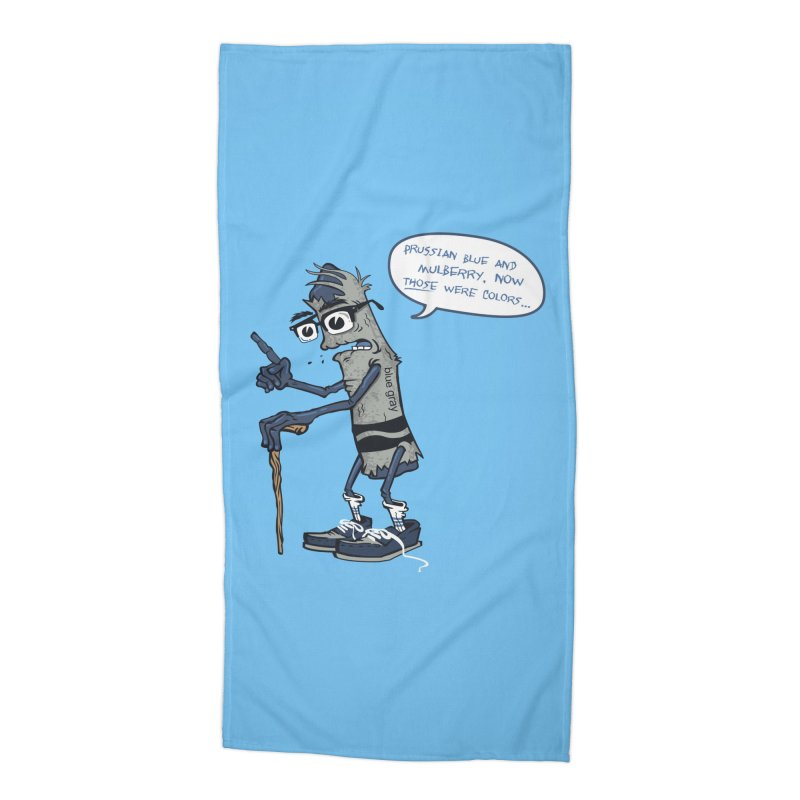 Oldest Crayon in the Box Accessories Beach Towel by Ben Douglass