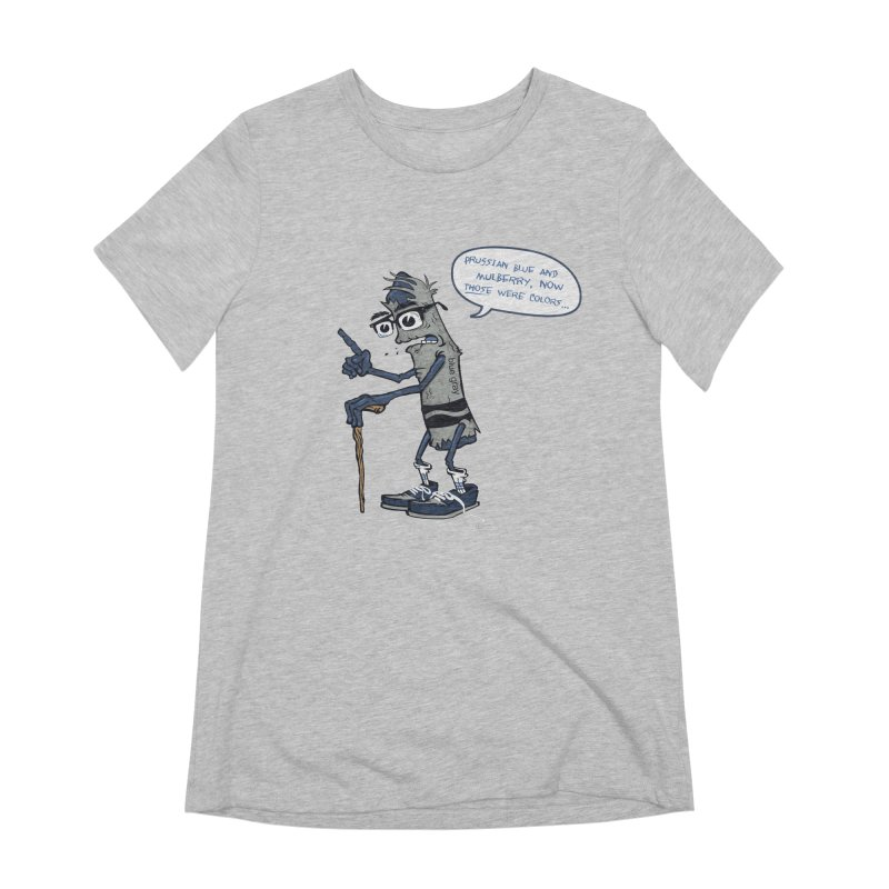 Oldest Crayon in the Box Women's Extra Soft T-Shirt by Ben Douglass