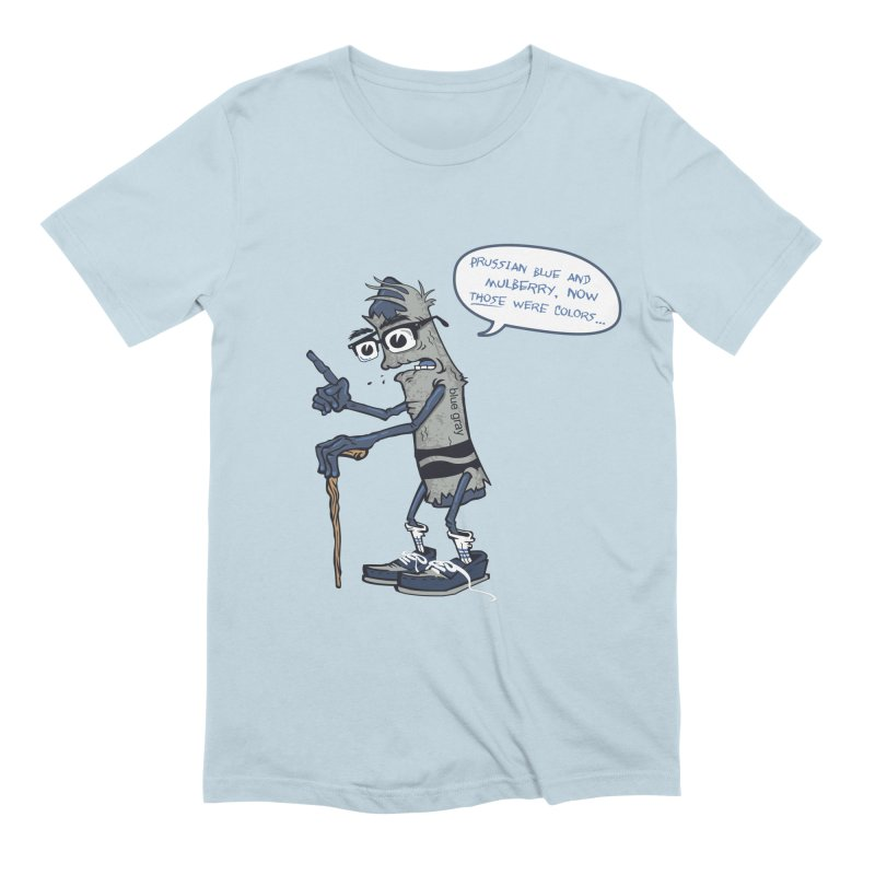 Oldest Crayon in the Box Men's Extra Soft T-Shirt by Ben Douglass