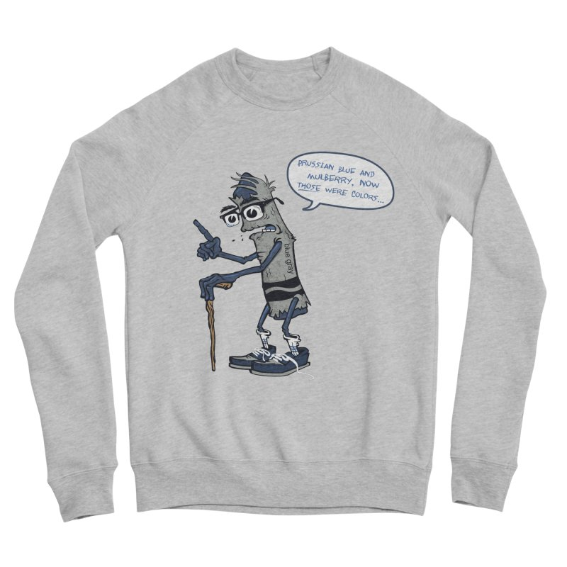 Oldest Crayon in the Box Women's Sponge Fleece Sweatshirt by Ben Douglass