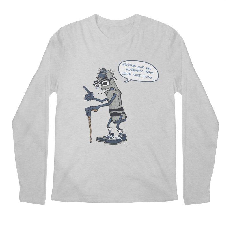 Oldest Crayon in the Box Men's Regular Longsleeve T-Shirt by Ben Douglass