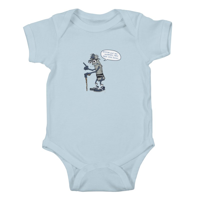 Oldest Crayon in the Box Kids Baby Bodysuit by Ben Douglass