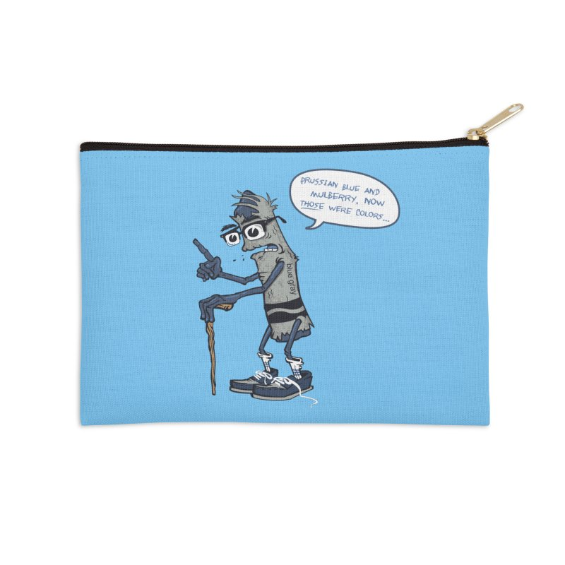 Oldest Crayon in the Box Accessories Zip Pouch by Ben Douglass