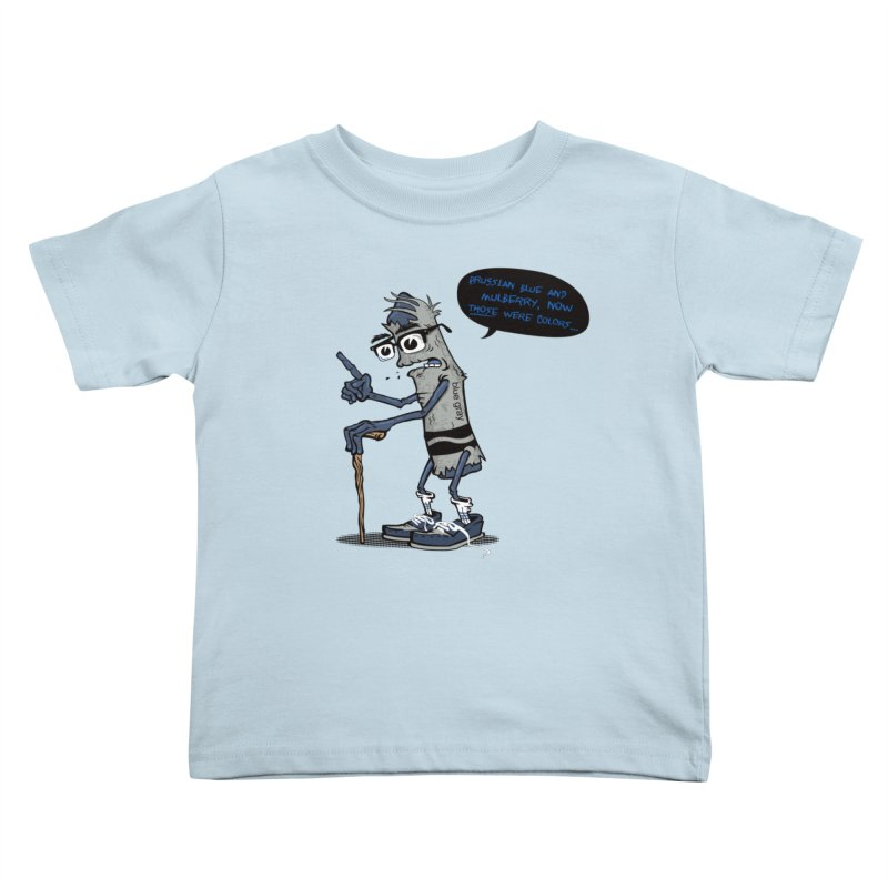Oldest Crayon in the Box Kids Toddler T-Shirt by Ben Douglass