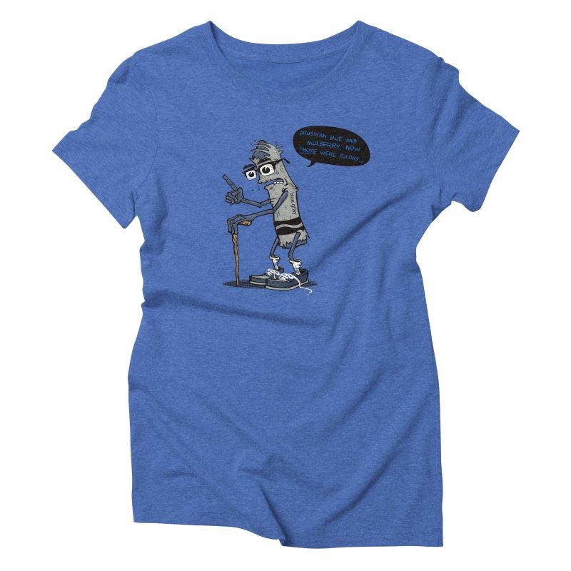Oldest Crayon in the Box Women's Triblend T-Shirt by Ben Douglass
