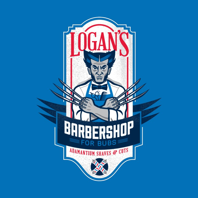 Logan's BarberShop Men's T-Shirt by Ben Douglass