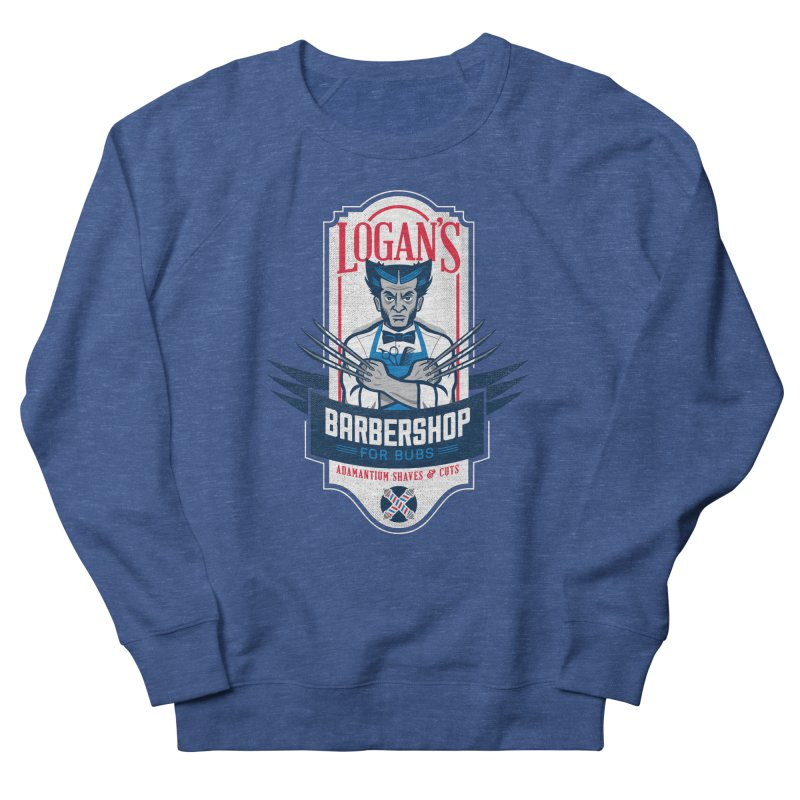 Logan's BarberShop Men's Sweatshirt by Ben Douglass