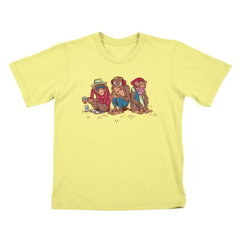 Three Wise Hipster Monkeys   by Ben Douglass