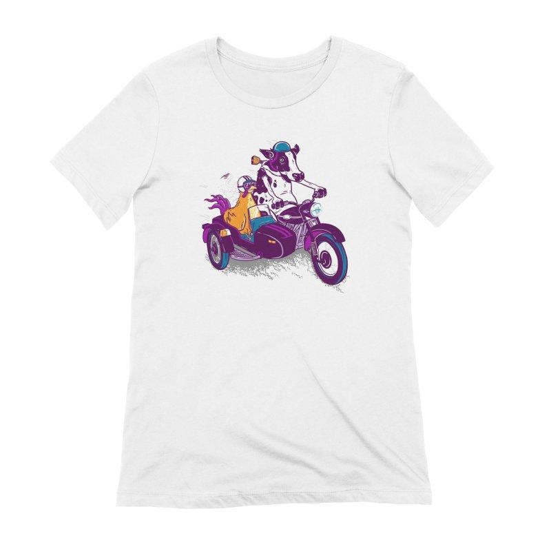 Fast Food Women's Extra Soft T-Shirt by Ben Douglass