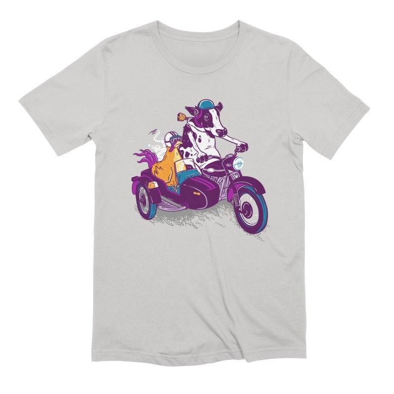 Fast Food Men's Extra Soft T-Shirt by Ben Douglass