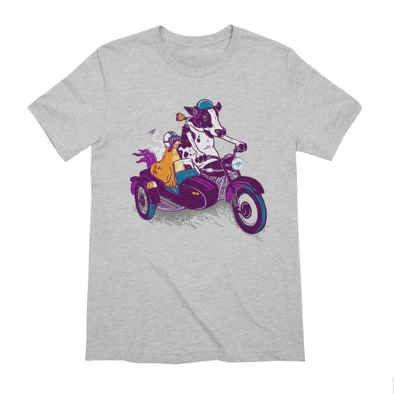 Fast Food Men's Extra Soft T-Shirt by Ben Douglass