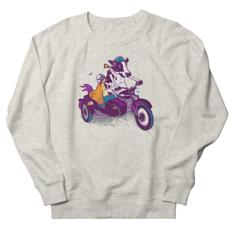 Fast Food Women's French Terry Sweatshirt by Ben Douglass