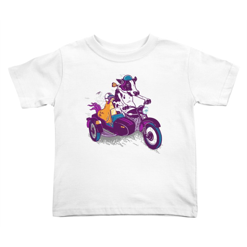 Fast Food Kids Toddler T-Shirt by Ben Douglass