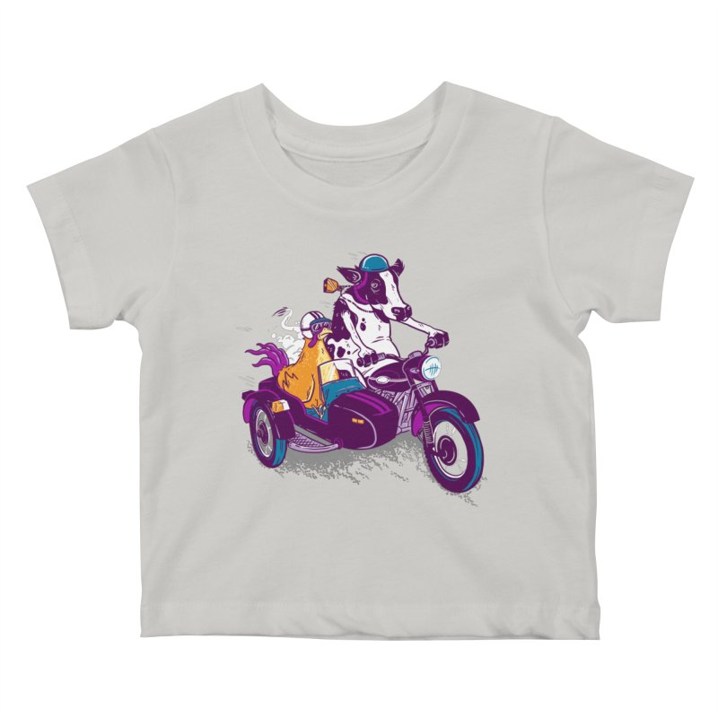 Fast Food Kids Baby T-Shirt by Ben Douglass