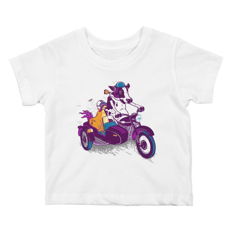 Fast Food Kids Baby T-Shirt by Ben Douglass